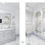 łazienka modern classic