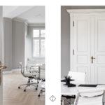 białe wnętrze biurowe