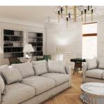 modern classic salon