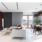 nowoczesny salon