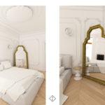 sypialnia classic style