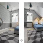 sypialnia dla chłopców