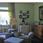 klasyczny salon przed remontem