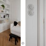 drzwi ze szprosami białe